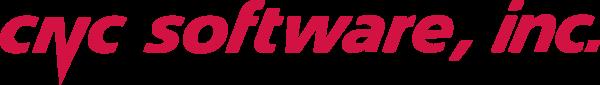 CNC Software logo - cnc red